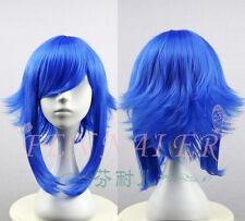 Handsome Gumi Color Version Blue Cosplay Party Wig Fashion Cos Wigs Hair New 01