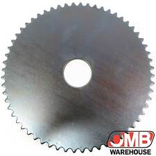 Steel Sprocket - 60 Tooth / #35 Chain No Holes - Mini Bike - Go Kart
