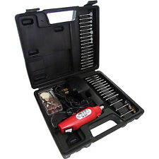 Set Electric Mini Rotary Drill Dremel Home DIY Case Kit Carry Nails Wood Carving