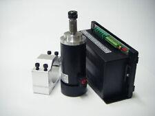 400W High Speed CNC DC Brushed Spindle Motor Kit 3 NMB Bearings&Supply&Bracket
