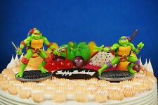 Teenage Mutant Ninja Turtles Raphael Donatello Cake Topper Figure Decoration