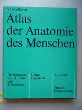 Atlas der Anatomie des Menschen 2. Band Eingeweide 1972