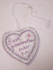 Best Grandmother Ever Small Love Heart Keepsake Birthday Christmas Gift #6F5