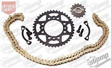 Stomp Pit Bike KMC 420 Chain,  41 tooth & 15T Sprocket Kit Set Demon X