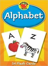 Cards Flash Brighter Child Learning Early Math 324 Alphabet 1 And Numbers New
