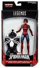 MARVEL LEGENDS SPIDERMAN SERIES SPIDER-GIRL ASHLEY BARTON BAF SPACE VENOM