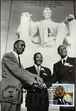 DR. MARTIN LUTHER KING JR.~ POST CARD CELEBRATE THE CENTURY STAMP 1960~ FDC #2