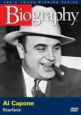 BIOGRAPHY: AL CAPONE (SCARFACE) A&E DOCUMENTARY NEW AND SEALED