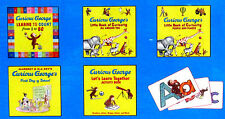 CURIOUS GEORGE Count 1 to 50,First Day of School,Curiosity All Around,Flash Card