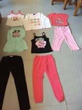 Lot Vêtement fille t-shirt débardeur pantalon bas de jogging combi legging 6 ans
