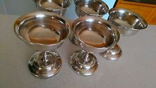 Set of 5 vintage Silver Paramount Goblets - F&Co, Paramount EPNS