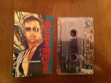 MC M.C. Hammer Let's Get It Started Cassette Tape RAP Hip Hop TURN THIS MUTHA