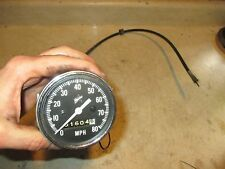 Vintage 70s Polaris Snowmobile Speedometer Assembly & Cable 2870156 TX Starfire