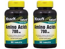 ( PACK OF 2 ) 90 TABLETS SUPER AMINO ACIDS 700 mg L-ARGININE muscle performance