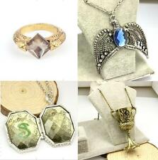 Harry Potter Horcrux Set 4PCS Sorcerer's Stone Ring Diadem Hufflepuff Cup Locket