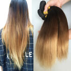 UK Delivery Brazilian Ombre Virgin Straight Human Hair Extensions 50g 1 bundle
