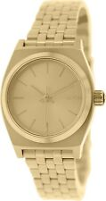 Nixon Women's Time Teller A399502 Gold Stainless-Steel Quartz Watch