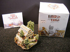 Lilliput Lane Falls Mill #521 - American Landmarks 1989 NIB & Signed By Ray Day