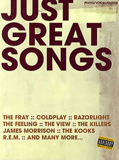Just Great Songs Learn to Play Razorlight Fray PIANO Guitar PVG Music Book