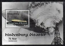Micronesia MNH 2012 75th Anniversary of Hindenburg Disaster M/S