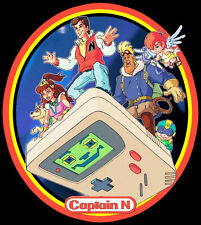 80's Cartoon Classic Captain N: The Game Master custom tee Any Size Any Color