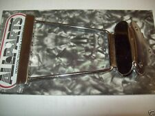 NEW - ABM 1111 Short Trapeze Tailpiece For Sitar Mod - NICKEL
