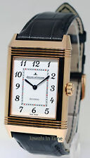 Jaeger LeCoultre Grande Reverso 18k Rose Gold Watch Box/Papers Q3732523