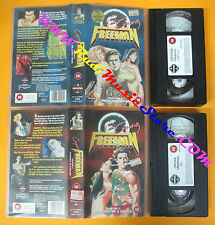 2 VHS film CRYING FREEMAN Chapter 1  2 1993 animazione MANGA VIDEO (F31) no dvd