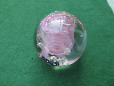 LANGHAM CRYSTAL PAPERWEIGHT MADE IN ENGLAND