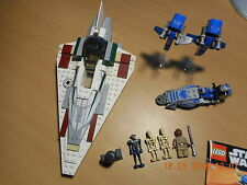 Lego Star Wars set: 7868 Mace Windu 's Jedi Starfighter incl. figuras y ba