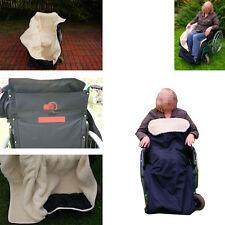 Rollstuhl Schlupfsack Rollstuhlschlupfsack Rollstuhlsack Lammwolle Naturprodukt