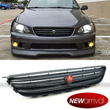 Fits 01-05 IS300 Matte Black JDM Altezza Hood Upper Grill Grille With Emblem