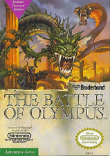 ***BATTLE OF OLYMPUS NES NINTENDO GAME COSMETIC WEAR~~~