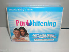 PUR WHITENING Pure Advanced Teeth Tooth System Professional Strength Formula x 2