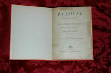 Libretto Opera 1913 Parsifal di R.Wagner Traduzione Ritmica G.Pozza