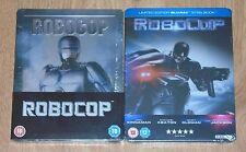 Robocop 1987 & Robocop 2014 - (Blu-ray) steelbook. NEW & SEALED. UK release.
