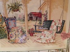 PAULA VAUGHAN'S SUMMER WELCOME Golden Needle Counted Cross Stitch Kit 32 count