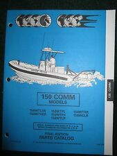 1994 Johnson Evinrude Outboard Parts Catalog Manual 150 HP Commercial 150C