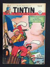 Fasicule périodique Journal Tintin N° 32 1951 TBE Laudy