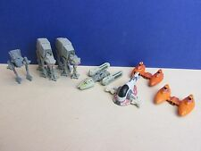 star wars y wing at at st walker slave 1 cloud car MICRO MACHINES set lot G66