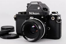 Nikon F2 S Photomic Black DP-2 Finder w/Nikon Ai 50mm F/2 lens from Japan # 6826
