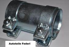 Rohrverbinder/Doppelschelle  Durchmesser 65mm, Länge 125mm, VAG/VW