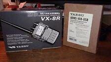 Yaesu VX-8R Multi Band VHF UHF Amateur Transceiver
