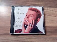 "David Bowie 2 CD The Chaos Girls  1998 Near Mint "" Mega Rar"""