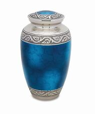 Grecian Blue Adult Cremation Urn