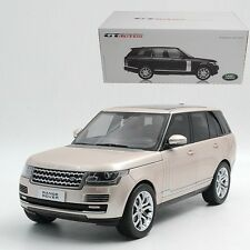Welly 1:18 GT AUTOS Land Range Rover GTA Die Cast Car 3D Model Champagne Gold