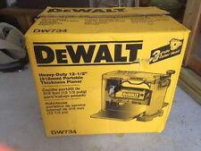 NEW DEWALT DW734 12.5 INCH 3 KNIFE CUTTER HEAD ELECTRIC PLANER 1 HP 4953808