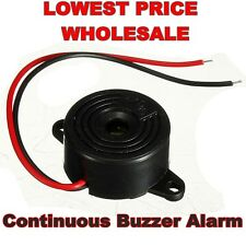 95DB 3-24V Piezo Electronic Tone Buzzer Alarm Continuous Sound Mounting Hole 12V