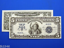 Reproduction $5 1899 Silver US Paper Money Currency Copy