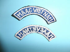 b5234 US Army  Philippines Vietnam MAAG Military Assistance Advisory Group tab